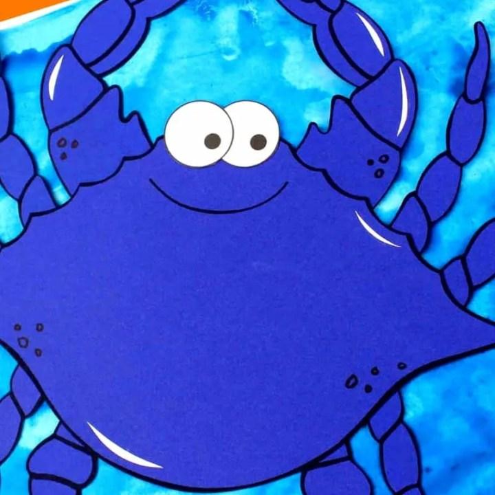 Crab Paper Craft
