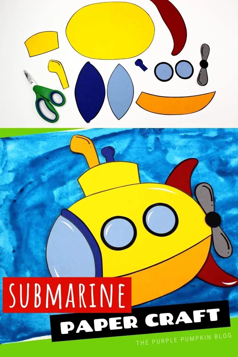 Paper Craft Submarine