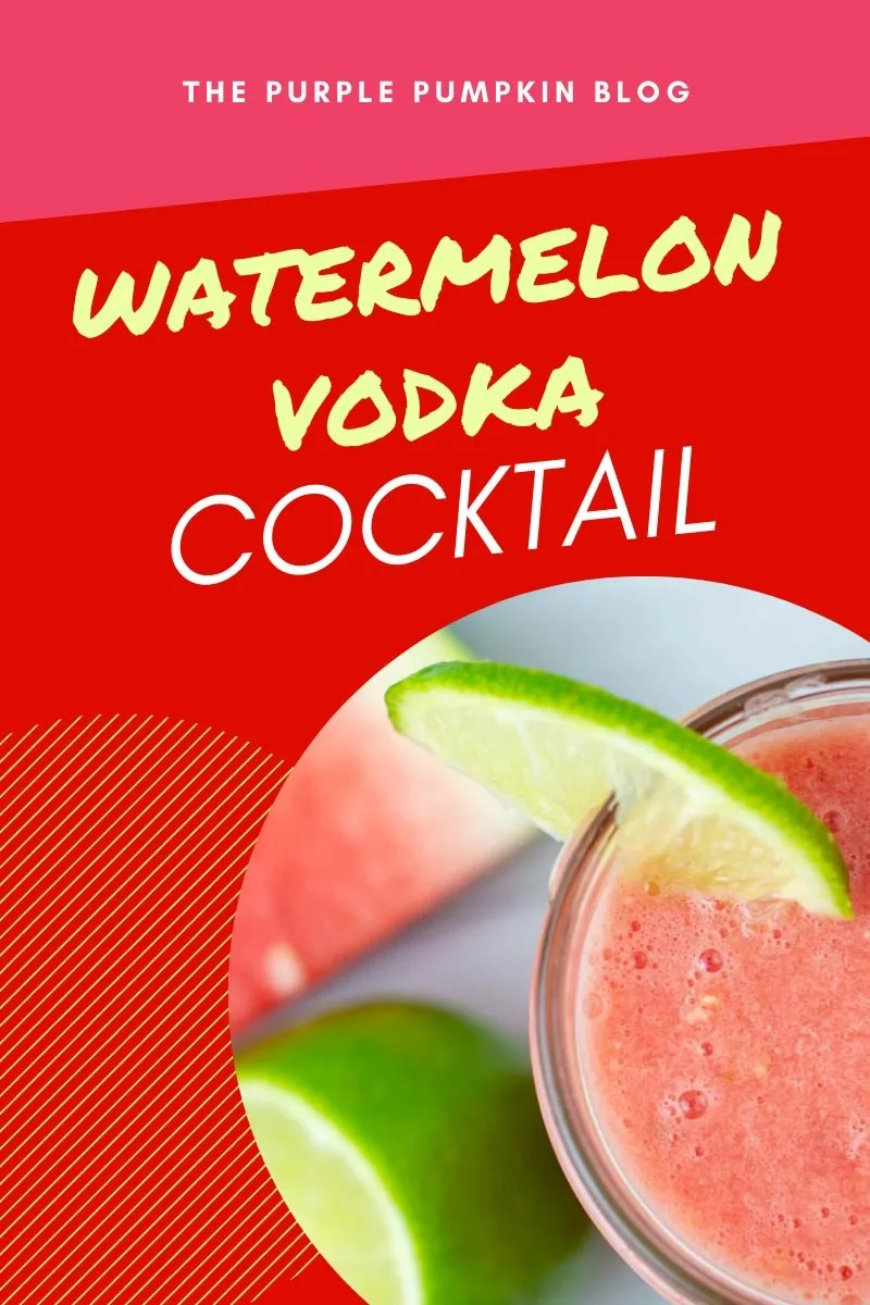 Watermelon Vodka Cocktail