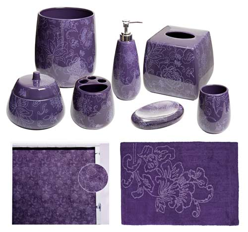 Purple Bathroom Accessories Uk purple bathroom accessories set uk - bathroom design