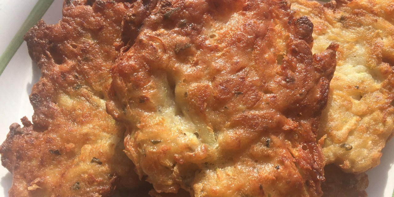 Paleo Zucchini Fritters