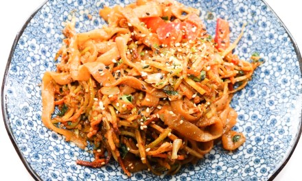 Low Carb Keto Pad Thai Noodles