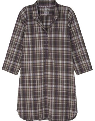 Grape Checked Nightshirt