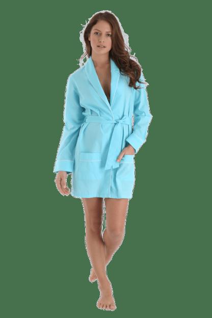 Alex Blue Turquoise Pool Robe