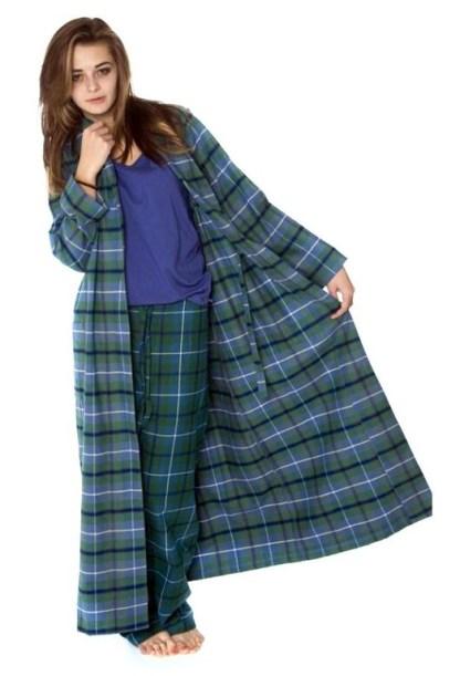 Mallaig Tartan Robe