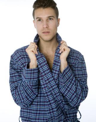 Classic Tartan Robe