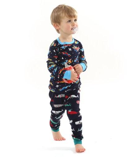 Hatley Space Cars Pyjamas