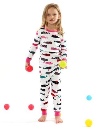 Hatley Cool Whales Pyjamas