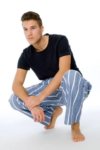 Classic Striped Lounge Pants