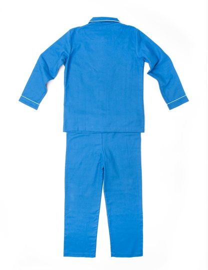 Boys Brilliant Blue Jim Jams