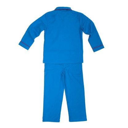 Girls Brilliant Blue Jim Jams