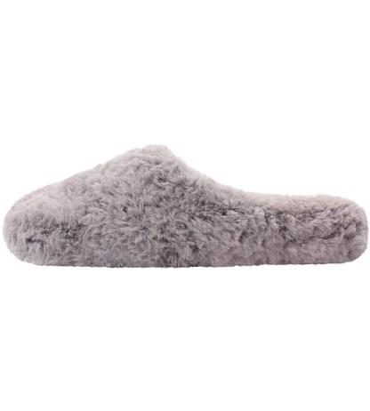 Warm Grey Sheepy Mules
