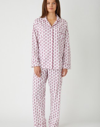 Berry Paisley Pyjamas