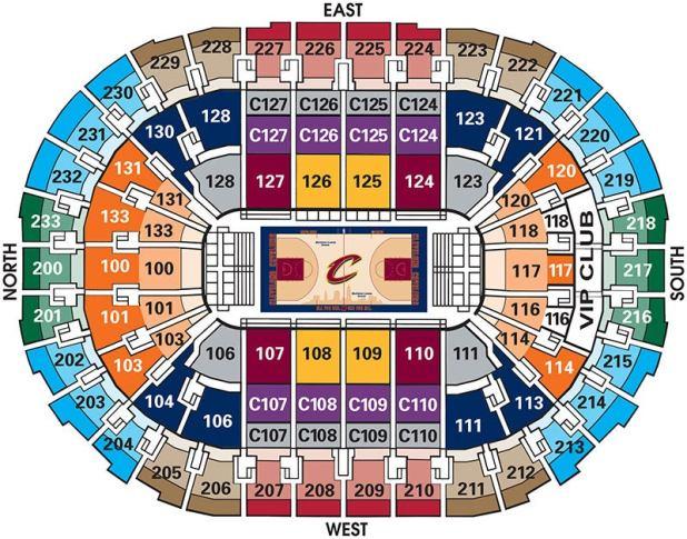 Cavaliers Stadium Tour