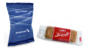 New complimentary snacks offered by American Airlines