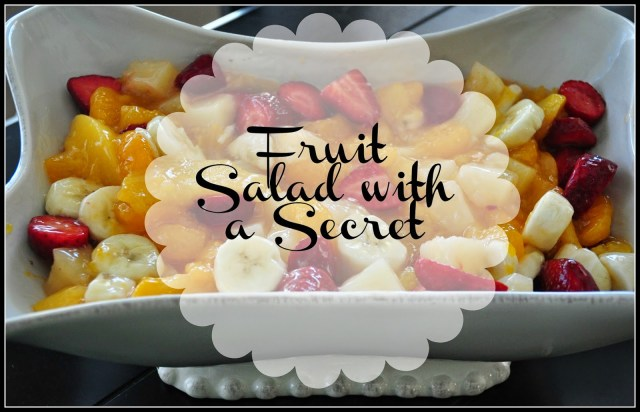 Perfect Fruit Salad for family gatherings