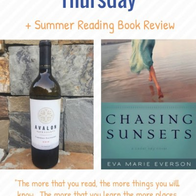 Thirsty Thursday + Book Review