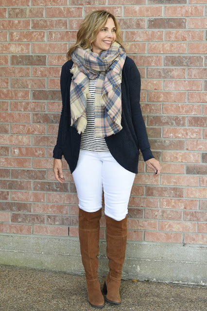Fall Style - White Jeans