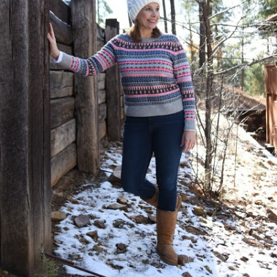 Baby It's Cold Outside – Ageless Style Linkup