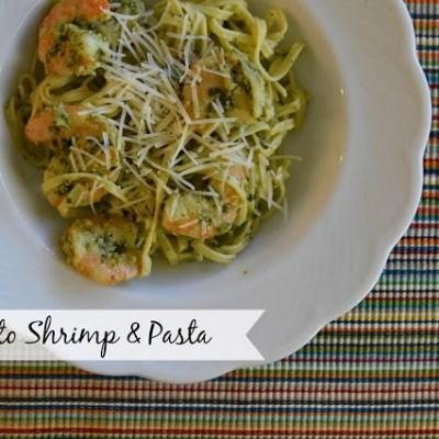 Pesto Shrimp & Pasta