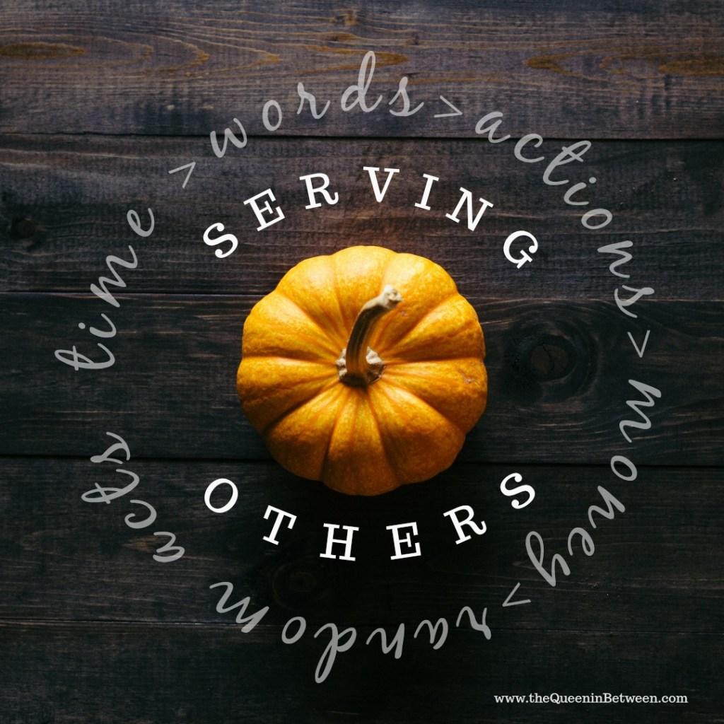 Serving Others - The Queen in Between
