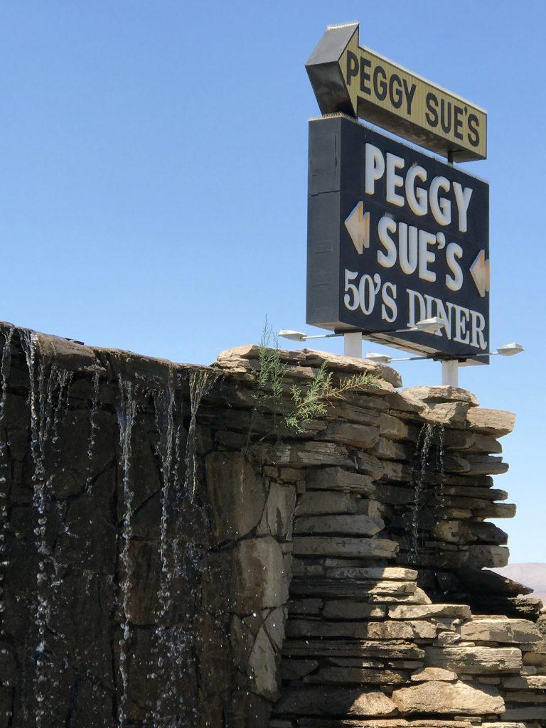 Peggy Sue Sign