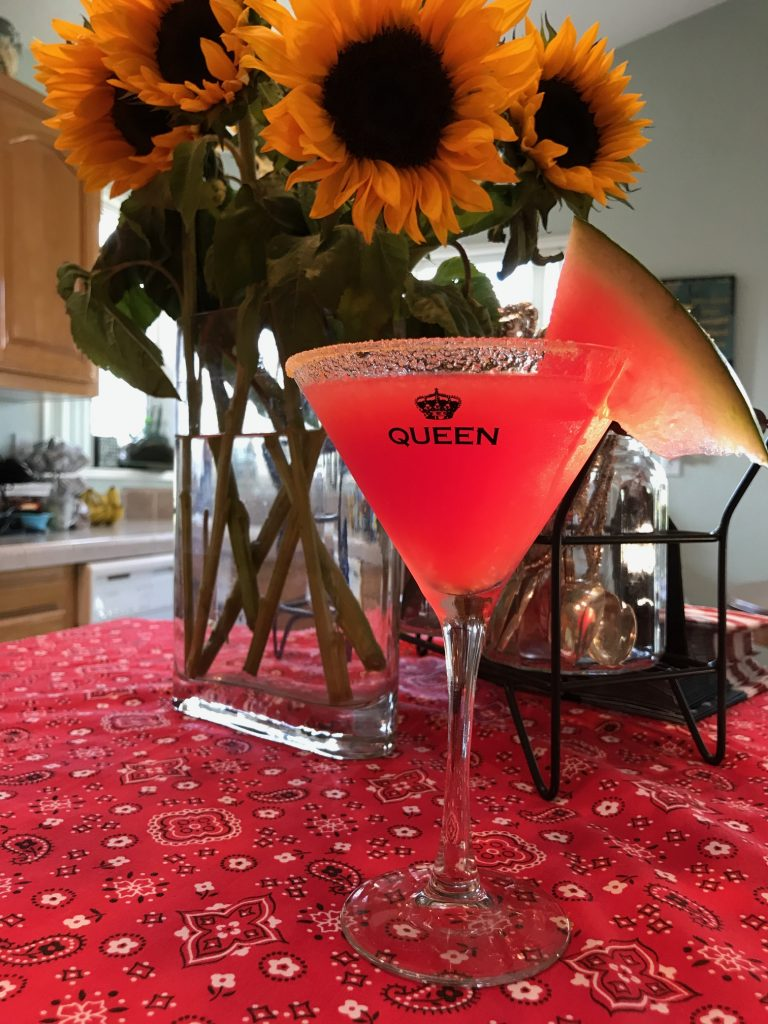 Watermelon Crawl Martini