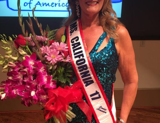 Mary Jane Wilkerson as Ms. Senior California 2017