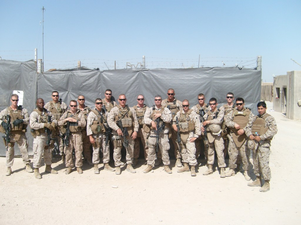 One of the units which received boxes from Operation America Cares