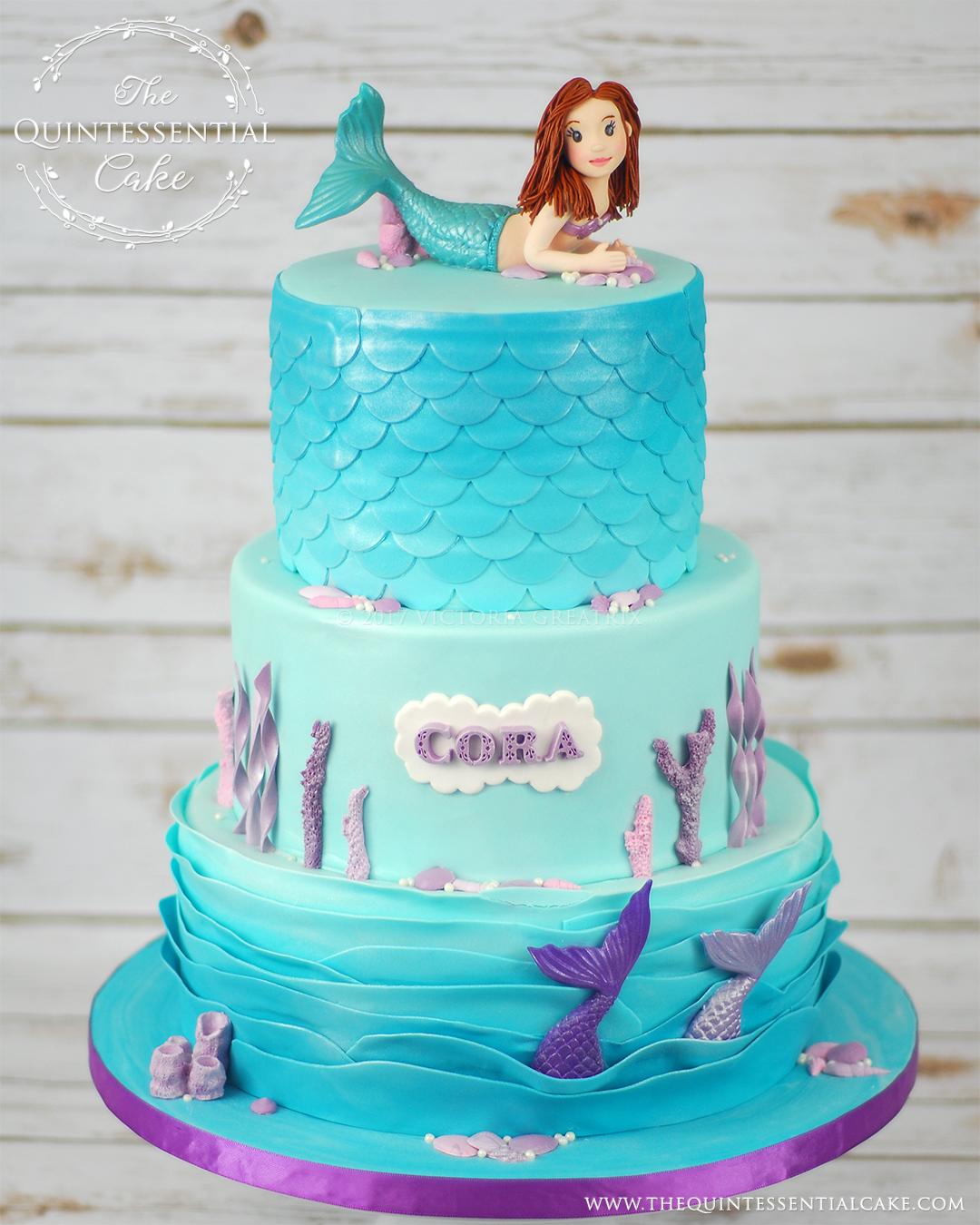 Purple Baby Shower Cakes