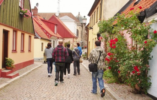 Blog trippers in Sweden