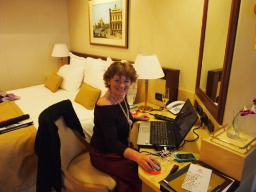Cruising & blogging
