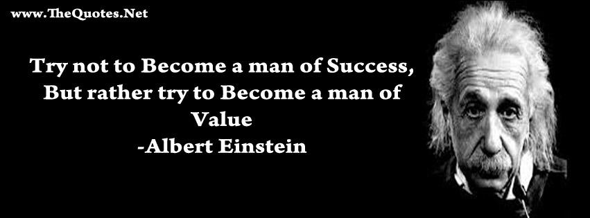 Facebook Cover Image Albert Einstein Quote