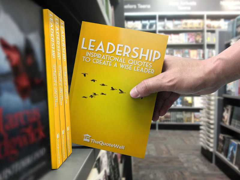 Leadership Quotes shelf pull