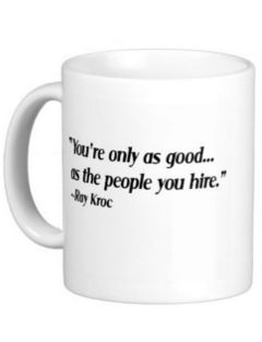 Ray Kroc Leadership mug image