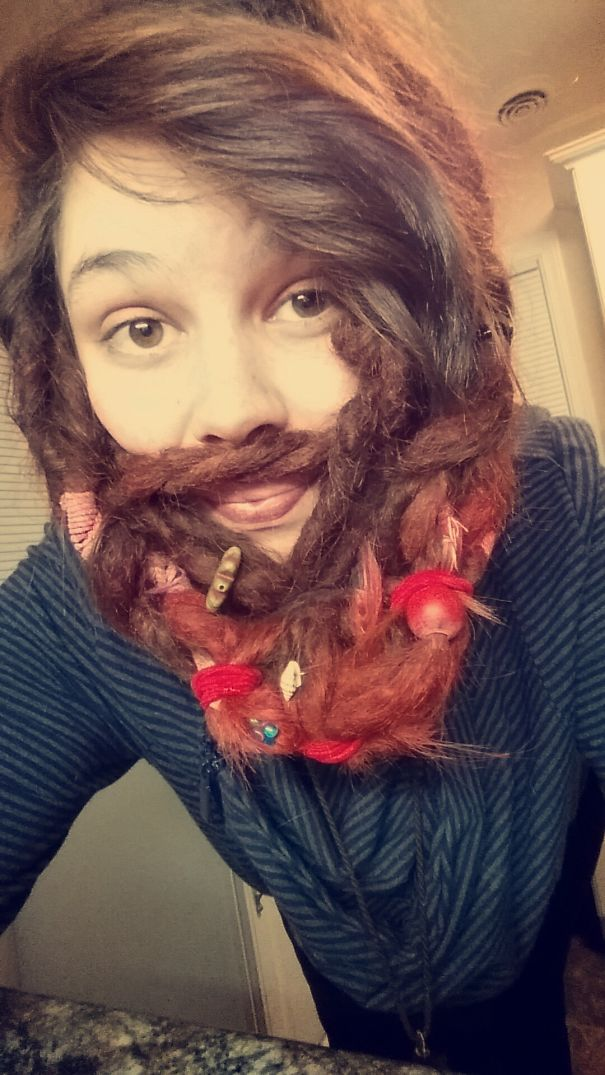 Cute Girls With Beards 20 Pics TheRACKUP