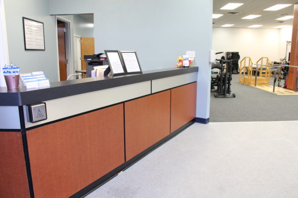 Wesminster Physical Therapy Reception Area