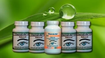 Natural help for dry eyes products theralife for Fish oil dry eyes