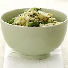 Trofie alle Castagne with Pesto, Potatoes and Green Bean recipe