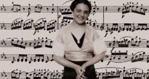 Alice Herz-Sommer. Sheet Music Background
