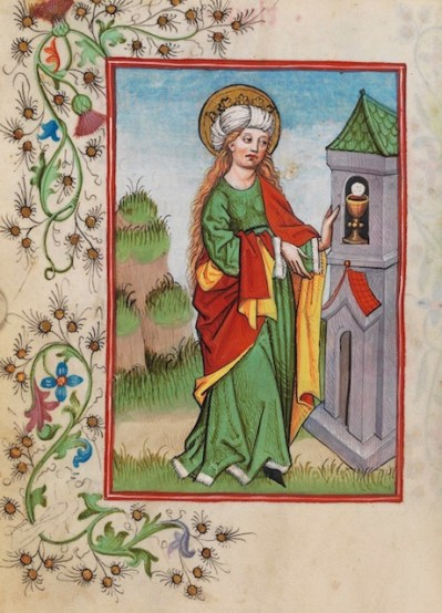 St. Barbara of Provence