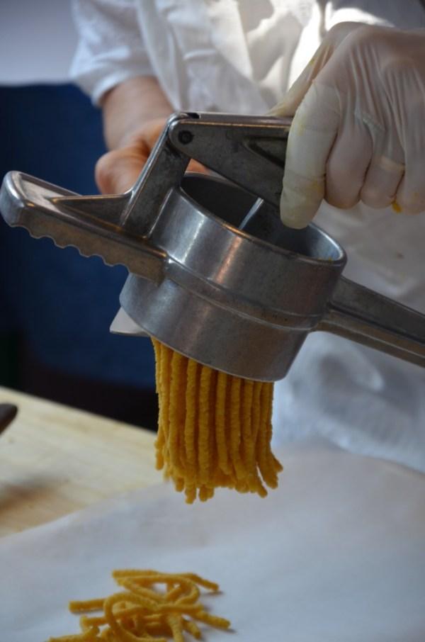 Nonna Violante, Belleria-Igea, Italy, cooking school, making passatelli pasta Nonna Violante, #lovingromagna