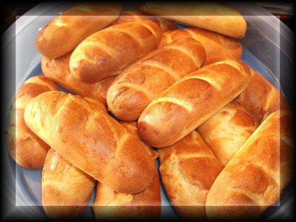 Pain au lait, French milk bread, Chartres/Beauce, France