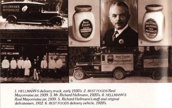 hellmann's mayonnaise history