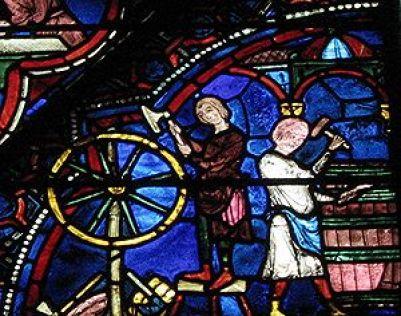 vitrail de la cathédrale de Chartres