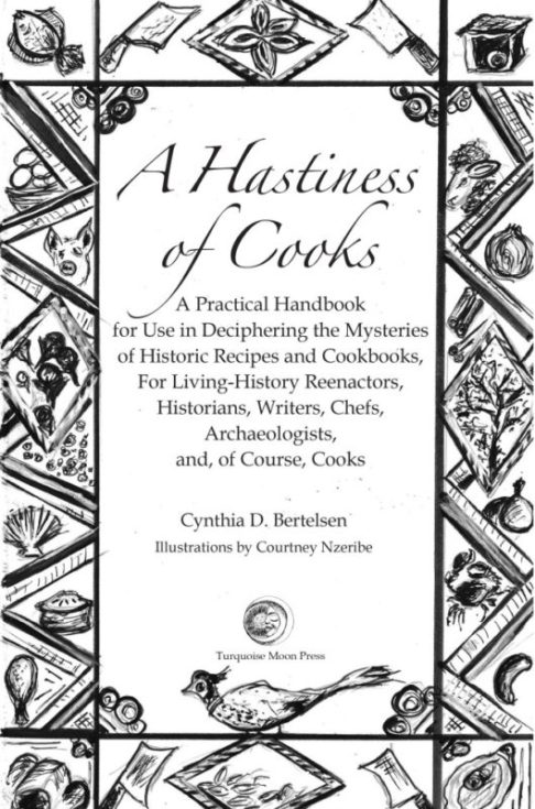 Cover A Hastiness of Cooks, by Cynthia Bertelsen