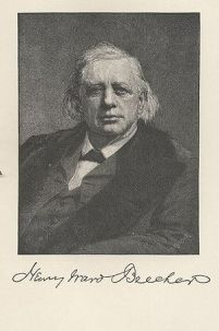 Sketch of Henry Ward Beecher