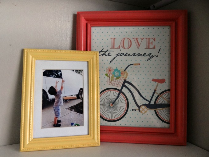 Garage Sale Picture Frames