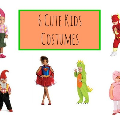 6 Cute Kids Costumes