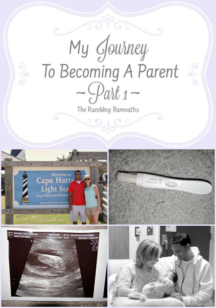 My Journey To Becoming A Parent - Part 1
